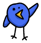 a twitter bird by spoongraphics